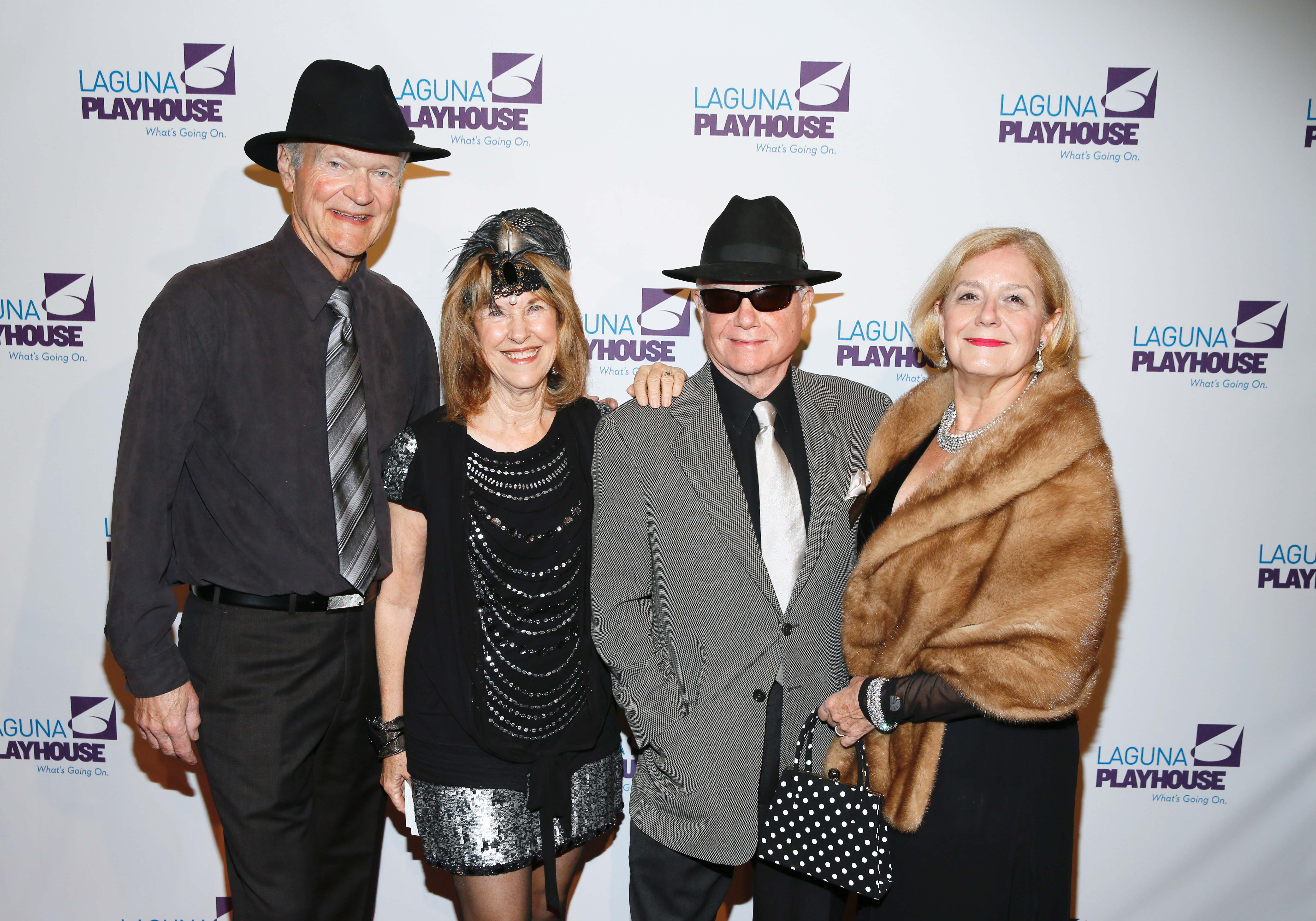 Board members Gary & Betsy Jenkins and Cody & Deborah Engel at
