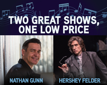 Nathan Gunn and Hershey Felder at Laguna Playhouse!