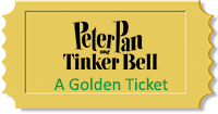 A Golden Ticket - Peter Pan and Tinker Bell, A Priate's Christmas